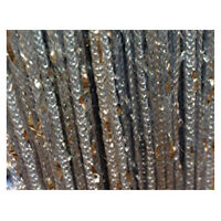 Y714 Room Door Window Beads Crystal String Curtain Beads Wall Panel Fringe Divid