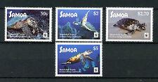 Samoa 2016 MNH Hawksbill Turtle WWF 4v Set Turtles Reptiles Stamps