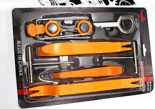 12 conjuntos de plástico Auto Autoradio Puerta Clip Panel Recorte Palanca de eliminación de Audio Kit Herramientas