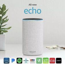 Amazon Echo - 2nd Generation - Smart Assistant / Wireless Speaker - Sandstone