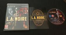 L.A. Noire LA PS3 Play Station 3 PAL ESPAÑOL