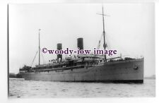 LP0259 - Union Castle Liner - Saxon - photograph