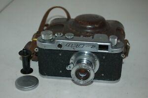 FED 2 (type A2) Vintage 1955 Soviet Rangefinder Camera and Case. 061524. UK Sale