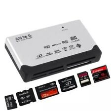 More details for all in one 1 memory card reader usb external sd sdhc mini micro m2 mmc xd cf ms