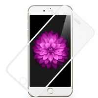 Tempered GENUINE Glass Screen Protector EDGE to EDGE White for Apple iPhone 6s 6