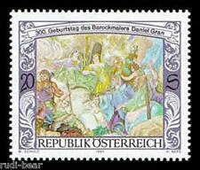 Austria nº 2125 ** Fresko por daniel gran pintor barroco