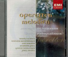 CD Operetten Melodien - Die Fledermaus - Der Vogelhändler,Neuwertig,Schock,Prey.