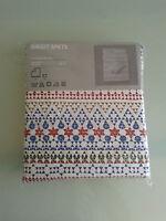 IKEA Birgit Spets Swedish Print Double Size Duvet Cover & 4x Pillow cases