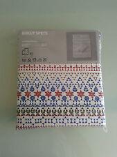 IKEA Birgit SPETS STAMPA SVEDESE Doppia Dimensione Copripiumino & 4P/C