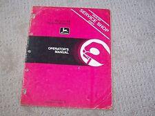 John Deere 66 & 68 Riding Mowers  Operators Manual  Used  B5