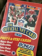 NFLfootball Card Game Fan Kit Pro Set Cards 36 packets