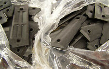 M-1911 & A1 .45 GRIPS, BLACK PLASTIC, U.S. NAVY ISSUE *NEW*