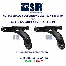 2 BRACCI SOSPENSIONE ANTERIORI VW GOLF 4 IV DAL 1997 2006 NUOVI