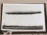 1933 Zeppelin Weltfahrten Cigarette Card German Photo 42 Afrika-Luftschiff L59