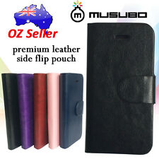Genuine Musubo Leather cover case pouch with 3 card pouches for Nokia Lumia 930