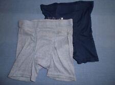 Hanes Boy's Multi 2 PK Cotton Boxer Briefs Set sz M 8/10 New
