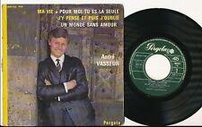ANDRE VASSEUR EP FRANCE COVER ALAIN BARRIERE CLAUDE FRANCOIS BEATLES