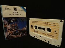RISK Hell's Animals / 1989 / MC CASSETTE IRON ANGEL, S.D.I., EXCITER, PARADOX