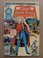 Marvel Classics Comics Series #17 The Count of Monte Cristo