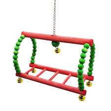 New listing Parrots Stand Perch Parakeets Ladder For Small Medium Bird Lovebirds Finches