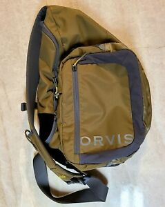 Orvis Guide Sling Pack Green Excellent Condition!!
