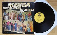 P394 Ikenga Super Stars of Africa Rare old RAS LP RASLPS 048