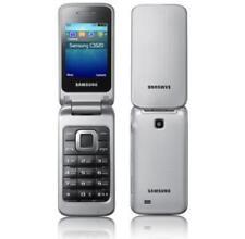 Samsung  GT C3520 - Silber Metallic (Ohne Simlock) Klappandy