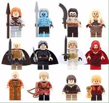 USA Custom made for LEGO blocks Game of Thrones Set 12 Jon Snow Lannister Stark