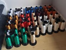 spun dyed polyester Most demanding and basic Colours Shiny Machine Silk job lot/