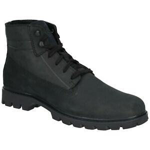 CAT Lifestyle Mens Basis Lace Up Boot Black