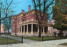 President Benjamin Harrison Museum Home Indianapolis Indiana Postcard Ephemera