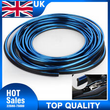 5M Blue Point Molding Edge Gap Line Garnish For Car Interior Accessory Universal