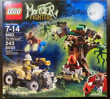 LEGO Monster Fighters (9463) The Werewolf ~NISB~ Damaged Box