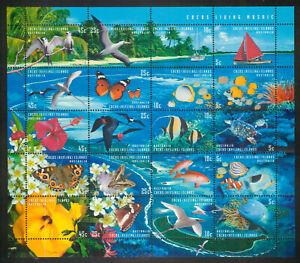Cocos Keeling Islands 1994 Transfer Postal Service sheet SG 296-315 MM mint A479