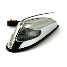 Front Fender Light 50-57 Style Chrome with Clear Light for Harley - Davidson