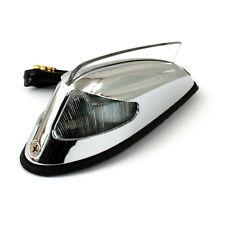 Front Fender luz 50-57 style cromo con luz limpia para Harley-Davidson
