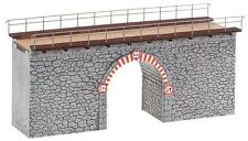 NEW ! HO Faller STONE ARCH BRIDGE Building KIT # 120498