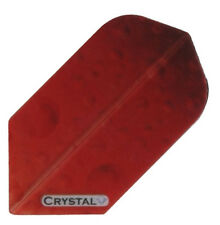 3 Sets Crystal Red Slim Dart Flights - 100 Micron  FREE SHIPPING