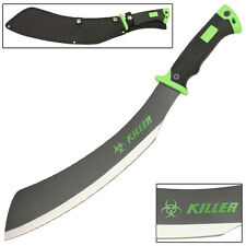 Savage Steel Zombie Killer Parang Outdoor Hunting and Chopping Machete Knife