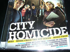 City Homicide Music From The Television Series Australian Soundtrack 2 CD