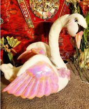 "JUMBO LARGE 24"" GENUINE BARBIE white SWAN LAKE ODETTE 20O3 MATTEL STUFFED PLUSH"