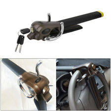 Car Steering Wheel Anti-theft Three-direction Airbag Lock Alloy+Leather Dossy