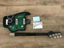 USSR Soviet Relic Bass Guitar & Fender and Gibson sticker / xfer