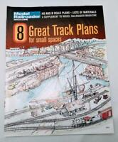 Model Railroader - 8 Great Track Plans For Small Spaces Magazine Train
