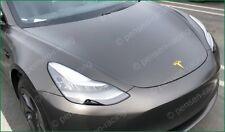 Tesla Model 3 T Logo Accent High Cast Vinyl Decal Yellow Sticker
