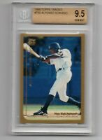 1999 Topps Traded Alfonso Soriano BGS 9.5 True Gem Yankees!
