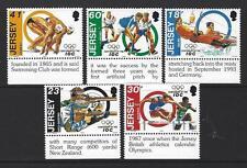 JERSEY 1994 SPORT - INTERNATIONAL OLYMPIC COMMITEE UNMOUNTED MINT MARGINALS
