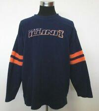 Pro Edge Illinois Fighting Illini Crewneck Fleece Sweatshirt Men's XL X-Large