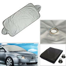 1Set SUV Folding Windshield Protect Cover Snow Frost Protector Sun Shield Silver