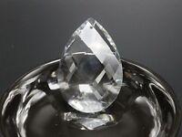 "5 Crystal Large Pear Teardrop Prism Sun Catcher DIY Pendant 50mm/2"" Chandelier"
